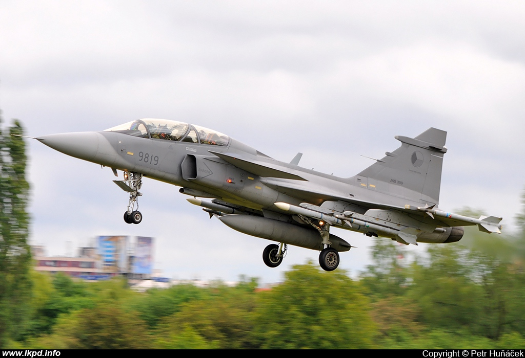 Czech Air Force – Saab JAS -39D Gripen 9819