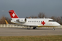 REGA - Swiss Air Ambulance – Canadair CL-600-2B16 Challenger 604  HB-JRC