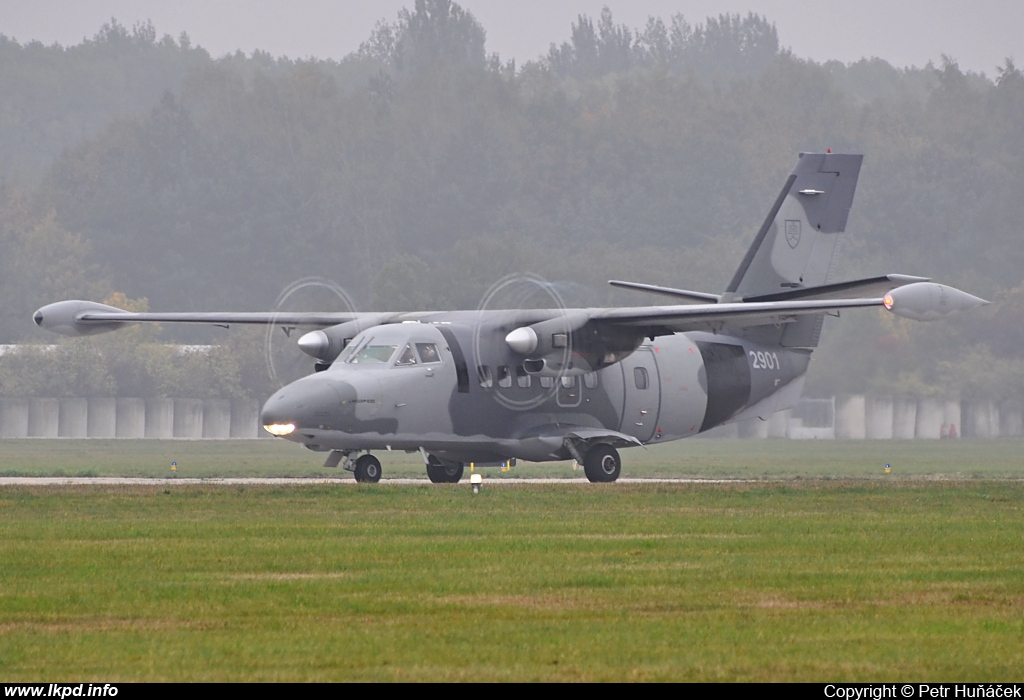 Slovakia Air Force – Let L410-UVP-E20 2901