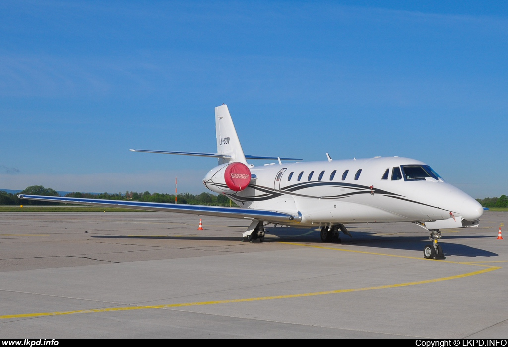 Sundt Air – Cessna 680 Citation Sovereign LN-SOV