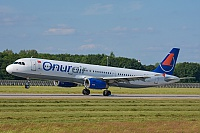 Onur Air – Airbus A321-231 TC-OBK