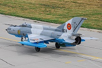 Romanian Air Force – Mikoyan-Gurevich MiG-21MF-75 6824